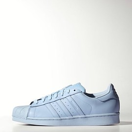 adidas - Superstar Supercolor Pack Shoes in Clear Sky S41830