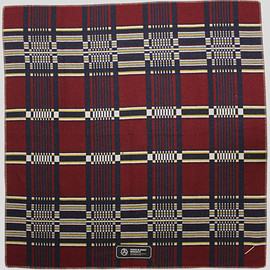 Horse Blanket Research - Jacquard (NAVYxRED)