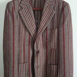 Garrick Anderson by IRVING PLACE NEW YORK - Heavy tweed jacket