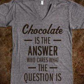 Chocolate Is The Answer T