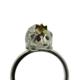 Rockcakes - Hedgehog Ring