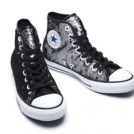 CONVERSE - CONVERSE CHUCK TAYLOR ALL STAR SPANGLE II HI SILVER
