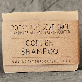 Rocky Top Soap Shop - Solid Shampoo Bar with Coffee