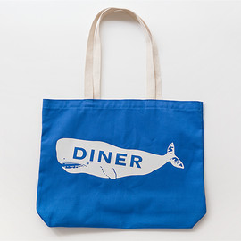Marlow & Sons - Diner Whale Tote