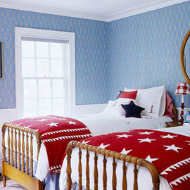 stars and stripes bedroom