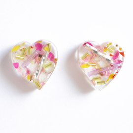 EVLiN - heart pierce (pink yellow × flower)