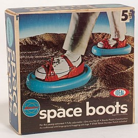 iDEAL - futurnow:  space boots