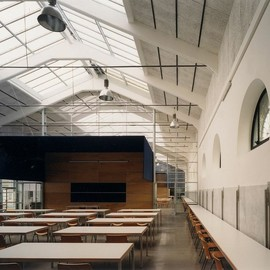Studio Insula - Recovery of the former slaughterhouse into University campus, Rome, Italy