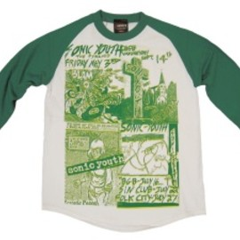 Sonic Youth - FOUR FLIERS T-shirt