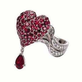 Dior JOAILLERIE - ring / Cupidon  diamonds and spinels