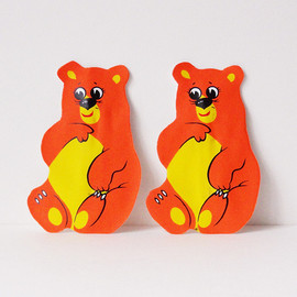 Bear Plastic Wallet