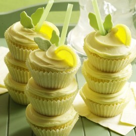 lemon cooler cupcakes