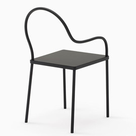 K% for Nendo  (Oki Sato) - Melt chair / black&black Collection