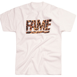 Hall of FAME   - FAME BLOCK LEOPARD TEE