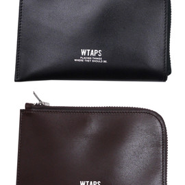 WTAPS - CREAMWALLET.LEATHER.COW(ウォレット・財布)271-000332-016x【新品】【smtb-TD】【yokohama】