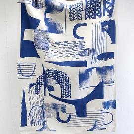 Laura Slater - 'Assemble/Configure'-Blue