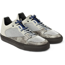 Balenciaga - Mesh and Leather Sneakers