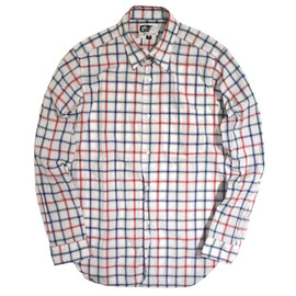 Engineered Garments - Tab Collar Shirt,Windowpane