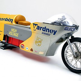 Mike Corbin - Quicksilver electric land speed motorcycle