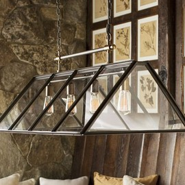 Pottery Barn - Greenhouse Chandelier