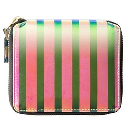 "COMME des GARCONS - 2015 Fall/Winter ""Crazy Stripe"" Wallets"