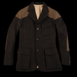 NIGEL CABOURN - Classic Mallory Jacket in Black Brown
