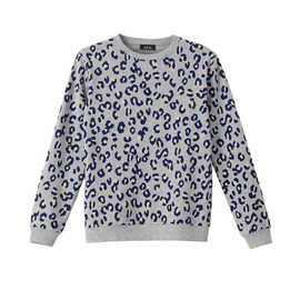 A.P.C. - LEOPARD SWEAT SHIRT