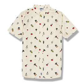 Ice Cream 'Drip' Button Down Shirt
