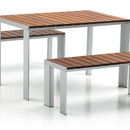 Design Within Reach - Deneb Teak Table - 47X31