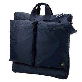 Porter - Force, Navy Blue 2 Way Helmet Bag