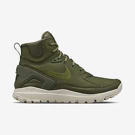 STONE ISLAND, NIKE - Koth Ultra Mid - Rough Green/String/Rough Green