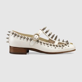 GUCCI - Cruise 2019 Ballet pump with spikes and studs