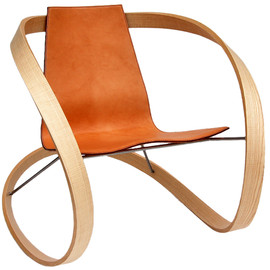 Katie Walker - Ribbon Rocking Chair