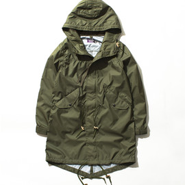 THE NORTH FACE PURPLE LABEL - W's Hyvent™ Fish Tail Hooded Coat
