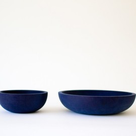 silvia song - indigo maple bowl