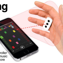 IK Multimedia - iRing - The first motion tracking music controller for everybody