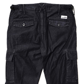"""BEDWIN & THE HEARTBREAKERS - """"Charls"""" 10/L Tapered Fit Cargo Pants - Navy"""