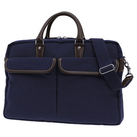 PORTER - TEXT 2Way Briefcase (Available in Black, Navy, Brown)