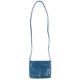 COSMIC WONDER Light Source - Naturally tanned leather shoulder pouch
