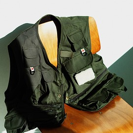 Columbia Black Label × MOUNTAIN RESEARCH - Carbonate Brook Vest (BEAMS PLUS Exclusive color)