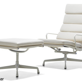 Herman Miller - Eames Soft Pad Group Lounge Chair (white)
