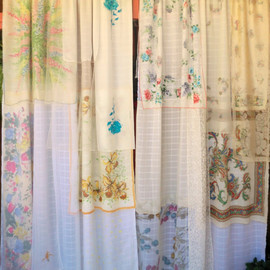 BabylonSisters - WHISPERING WIND - Handmade Gypsy Curtains