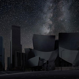 THIERRY COHEN - Darkened Cities / Los Angeles 34° 03' 20'' N