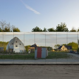 Johan Selbing + Anouk Vogel - Mirror House, Almere,