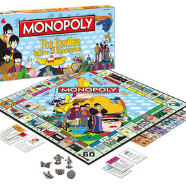 USAopoly - MONOPOLY: The Beatles Yellow Submarine