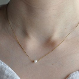 amito - poppy pearl necklace
