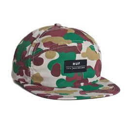HUF - DEATH FROM ABOVE 6 PANEL VOLLEY (Camo)