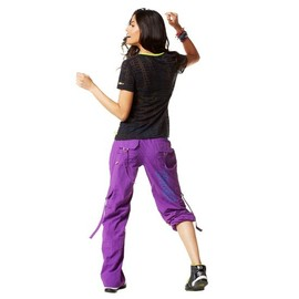Zumba Fitness - ZUMBA(ズンバ) Craveworthy Cargo Pants パープル
