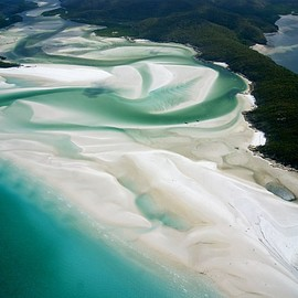 Witsunday Islands, Australia - Whitehaven Beach