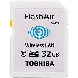 TOSHIBA - 無線LAN搭載 FlashAir III 最新世代 Wi-Fi SDHCカード Class10 日本製 並行輸入品 (32GB)
